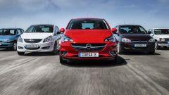 Nuova Opel Corsa, dal 2020 sarà anche elettrica