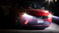 Nuova Opel Corsa: dettaglio frontale