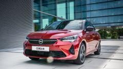 Nuova Opel Corsa-e GS Line: il frontale