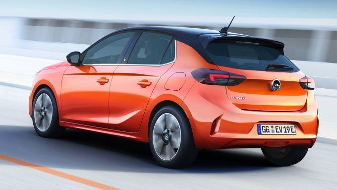 Nuova Opel Corsa-e: stile tutto nuovo e moderno
