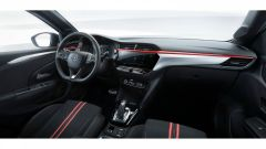 Nuova Opel Corsa, gli interni dell'allestimento GS Line
