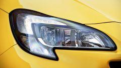 Nuova Opel Corsa GSi, fari anteriori