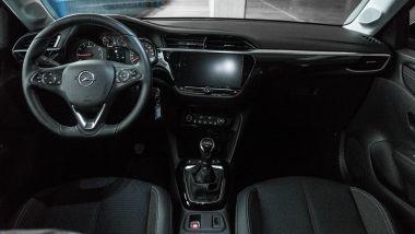 Nuova Opel Corsa interni