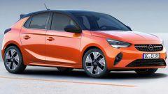 Nuova Opel Corsa: la fiancata