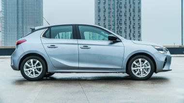 Nuova Opel Corsa, la fiancata