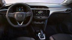 Nuova Opel Corsa: l'abitacolo