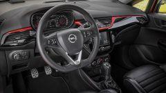 Nuova Opel Corsa S, gli interni hanno sedili Recaro
