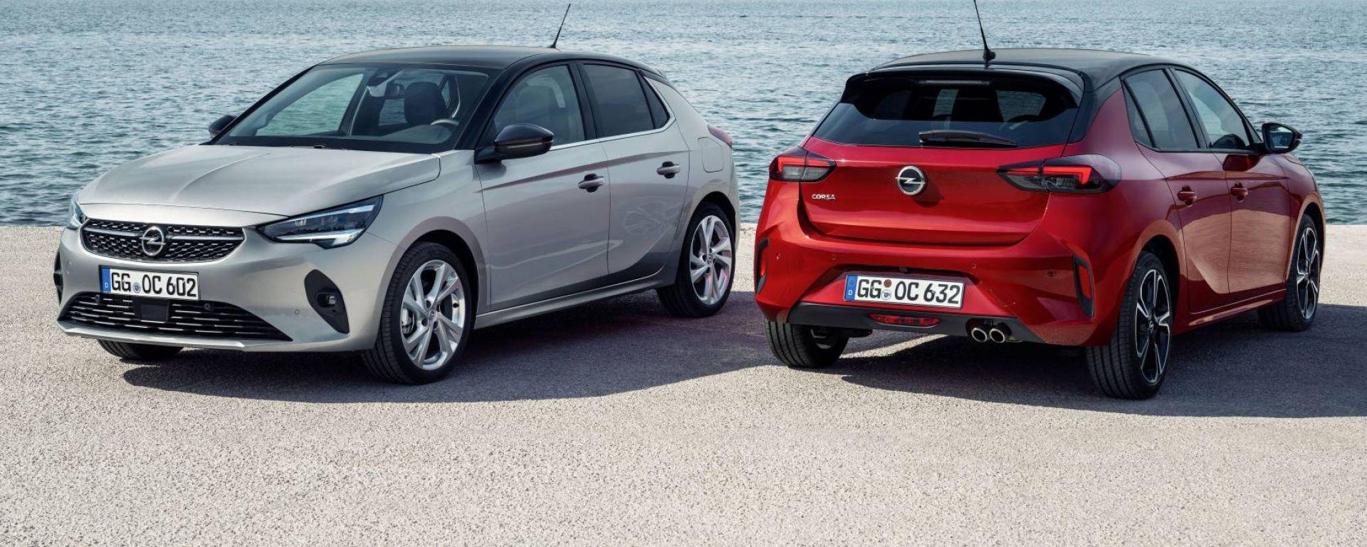Nuova Opel Corsa, via alle vendite