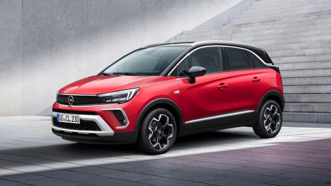 Nuova Opel Crossland: 3/4 anteriore