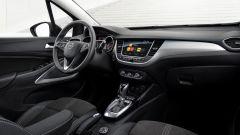 Nuova Opel Crossland: gli interni