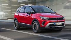 Nuova Opel Crossland: il frontale