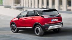 Nuova Opel Crossland: il posteriore