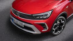 Nuova Opel Crossland: la calandra Opel Vizor