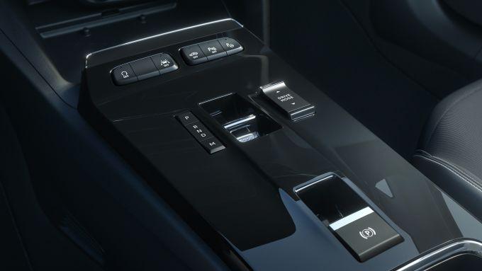 Nuova Opel Mokka GS LIne Pack 1.2 PureTech 130 CV EAT8: il selettore del cambio automatico