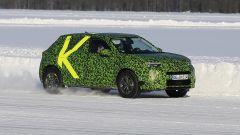 Nuova Opel Mokka, paparazzata in Svezia durante un test