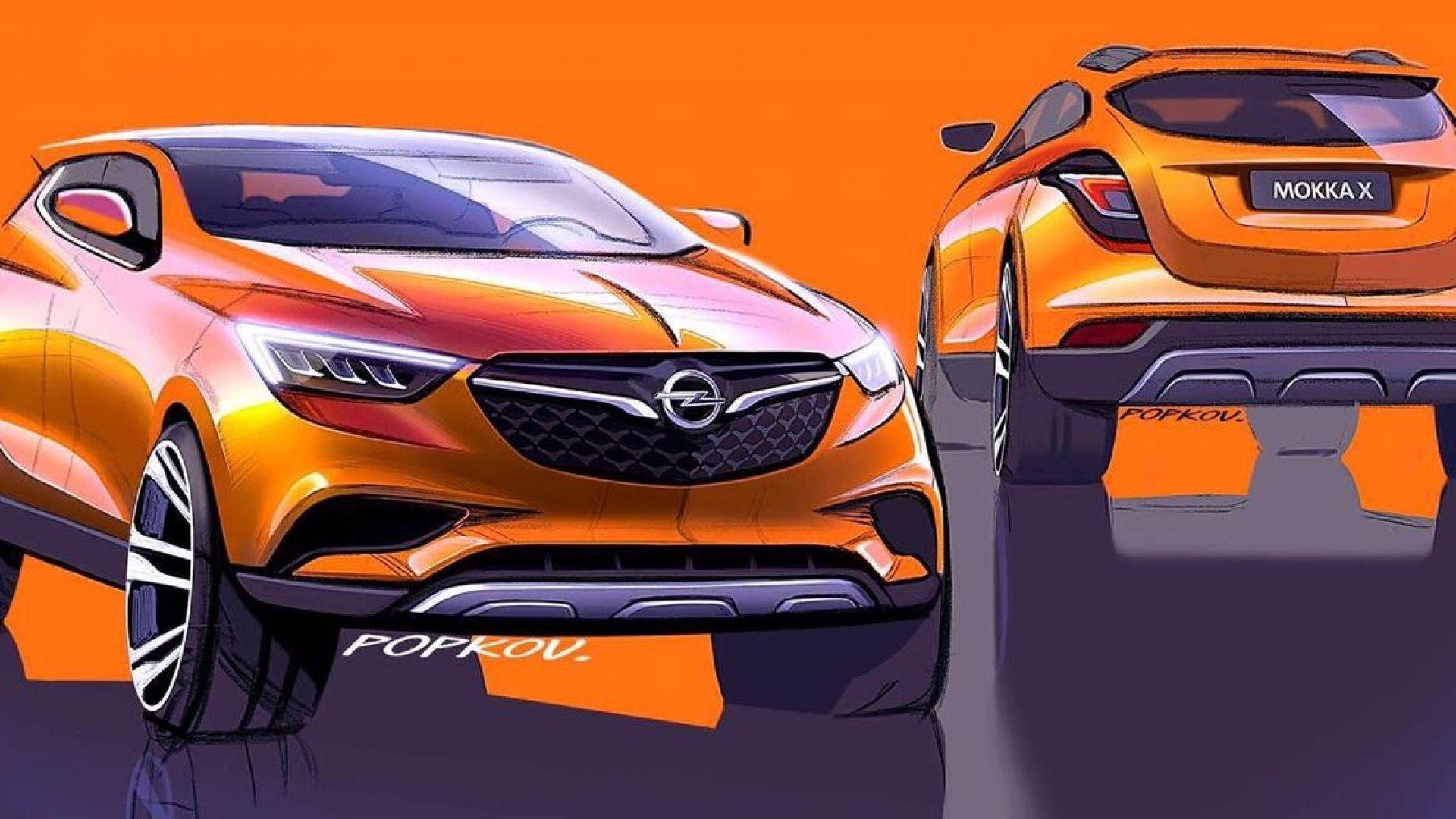 Nuova Opel Mokka X 2019: anteprima, motori, prezzo - MotorBox