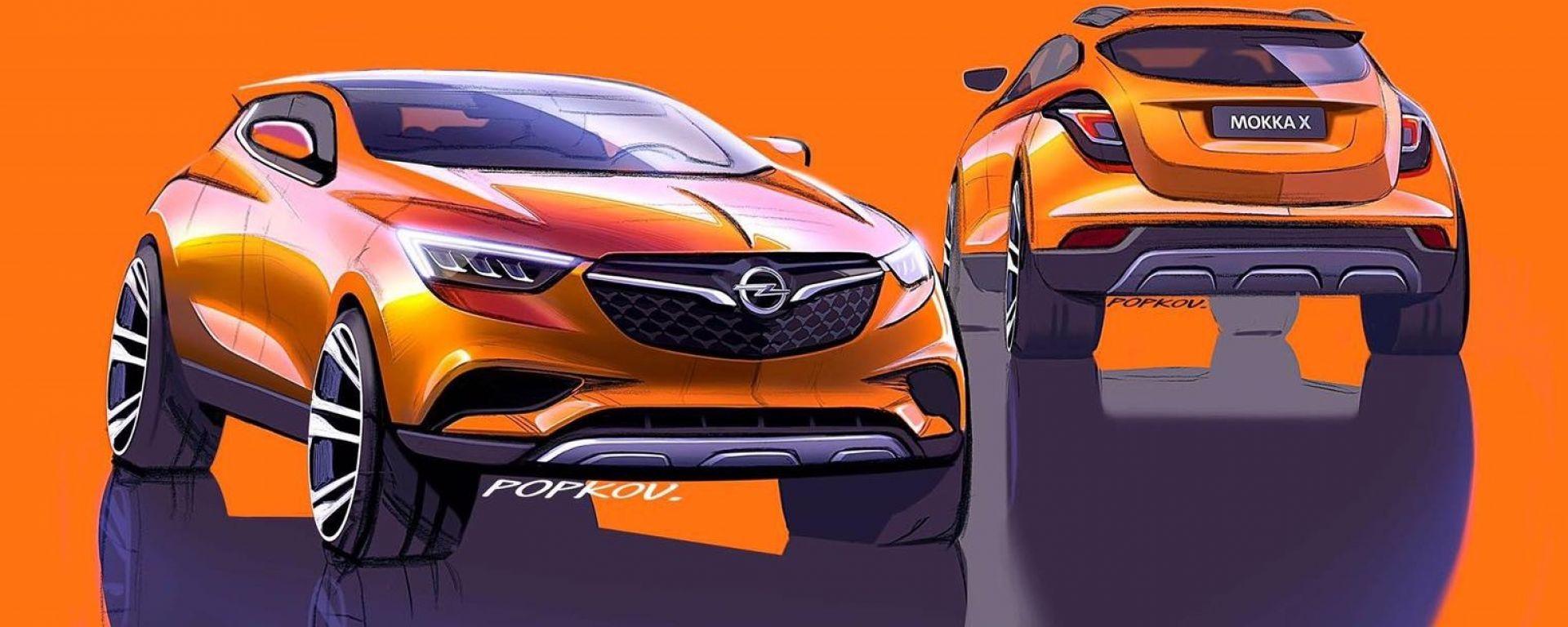 Nuova Opel Mokka X 2019 Anteprima Motori Prezzo Motorbox