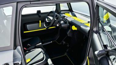 Nuova Opel Rocks-e: interni