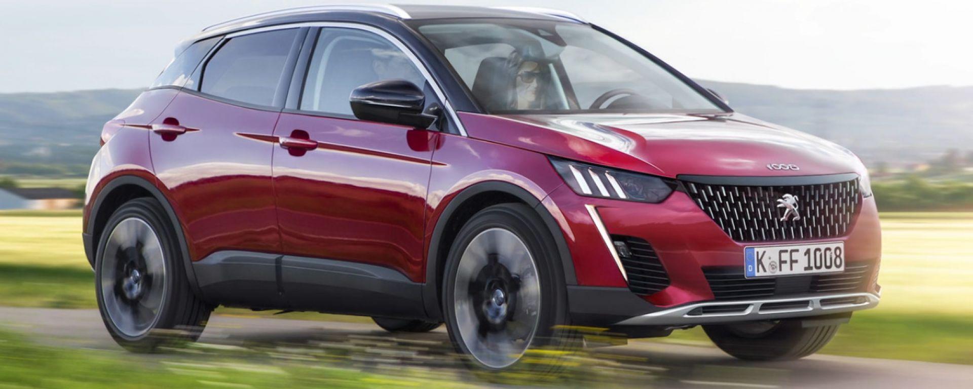 Nuova Peugeot 1008, il render di AutoBild
