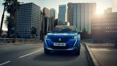 Nuova Peugeot 2008: il frontale