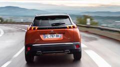 Nuova Peugeot 2008, il posteriore