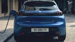 Nuova Peugeot 208: il posteriore
