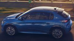 Nuova Peugeot 208: la fiancata