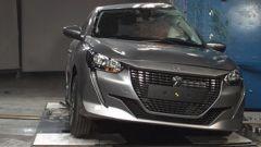 Nuova Peugeot 208, non perfetto l'urto laterale