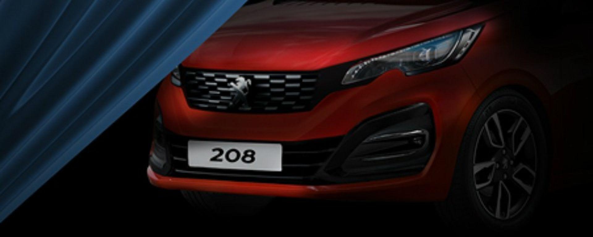 Nuova Peugeot 208: prima uscita nel 2018 con nuovi motori e elettrico - MotorBox