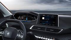 Nuova Peugeot 3008, gli interni: lo schermo centrale è un 8 pollici touch capacitivo