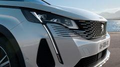 Nuova Peugeot 3008, i fari anteriori