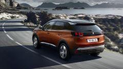 Nuova Peugeot 3008, il bagagliaio: i 520 litri di capacità diventano 1.482 litri a sedili posteriori abbassati