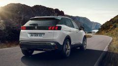 Nuova Peugeot 3008, il posteriore