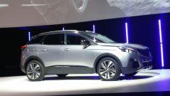 Nuova Peugeot 3008, immagini live