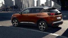 Nuova Peugeot 3008, la vista posteriore