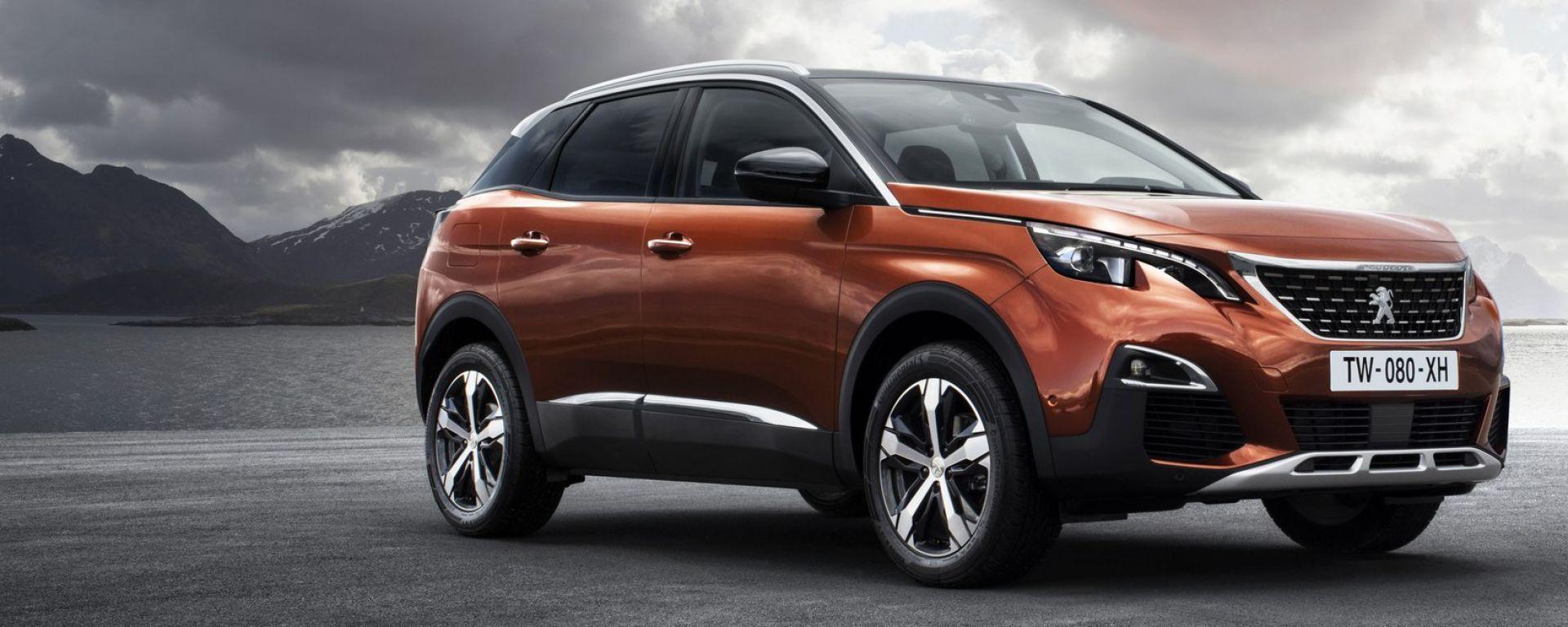 Nuova Peugeot 3008: ora ha un look più da suv