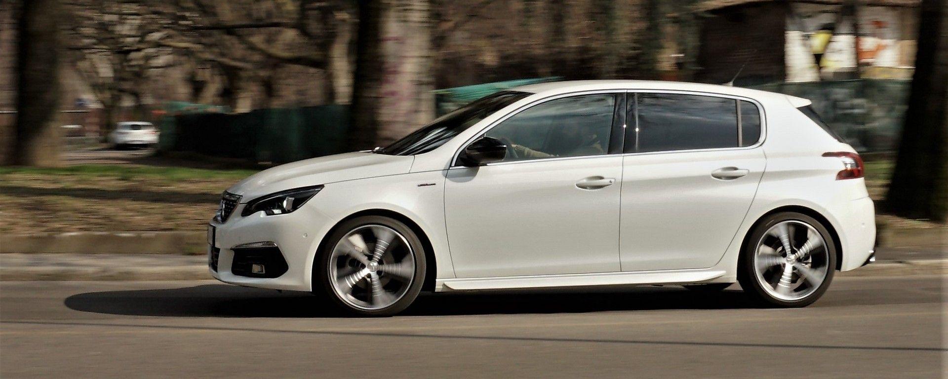 Peugeot 308 1.5 BlueHDI 130 CV GT-Line, la prova