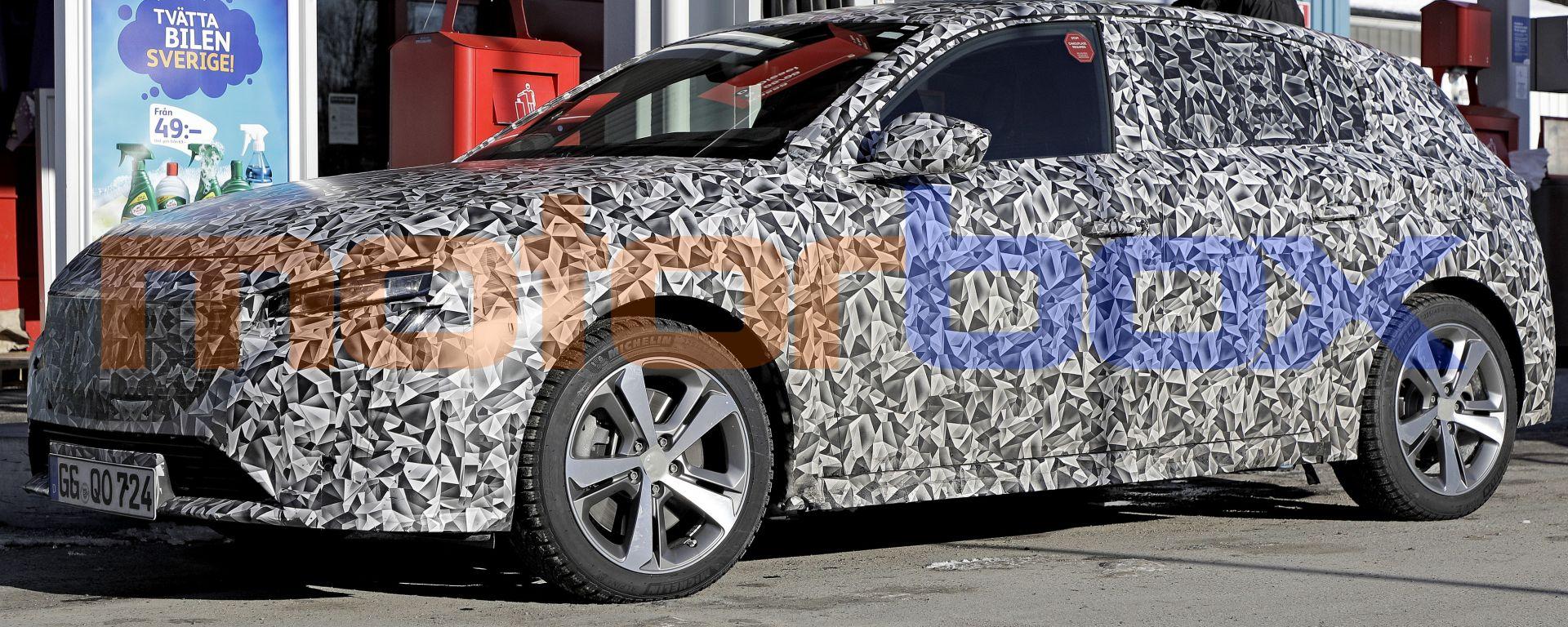 Peugeot 308: la terza generazione è quasi pronta. Nuove foto spia