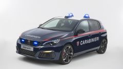 Nuova Peugeot 308 GTi arruolata nell'Arma dei Carabinieri - Immagine: 2
