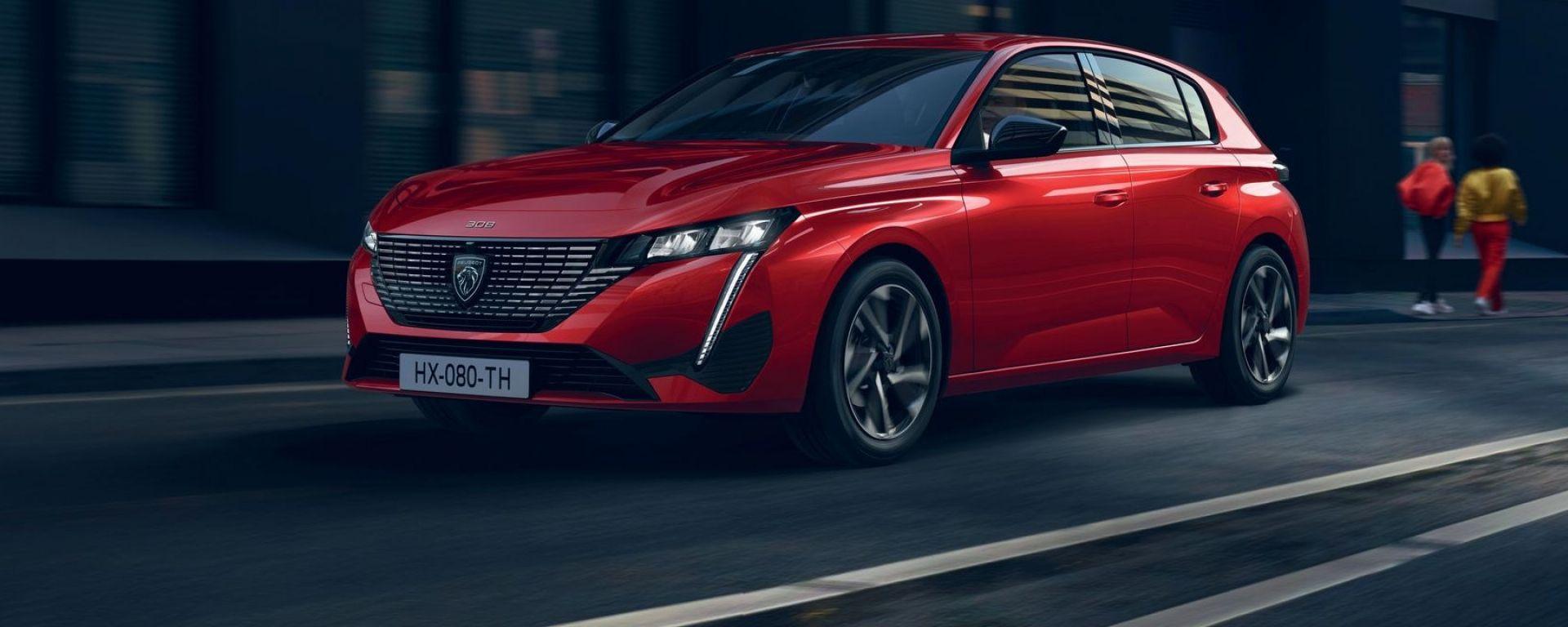 Nuova Peugeot 308: i prezzi ufficiali della nuova media francese