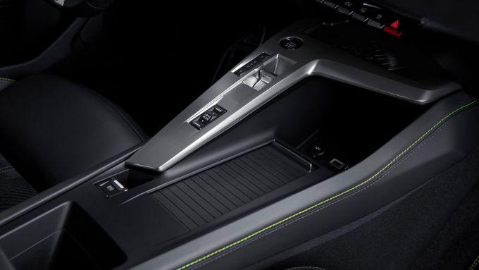 Nuova Peugeot 308: la console centrale