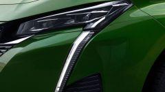 Nuova Peugeot 308: la lama verticale a LED delle luci diurne