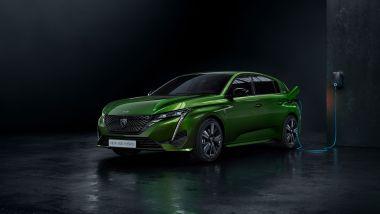 Nuova Peugeot 308: la versione ibrida plug-in
