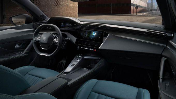 Nuova Peugeot 308: l'abitacolo rinnovato e super tecnologico