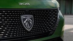 Nuova Peugeot 308: l'inedito logo della Casa francese