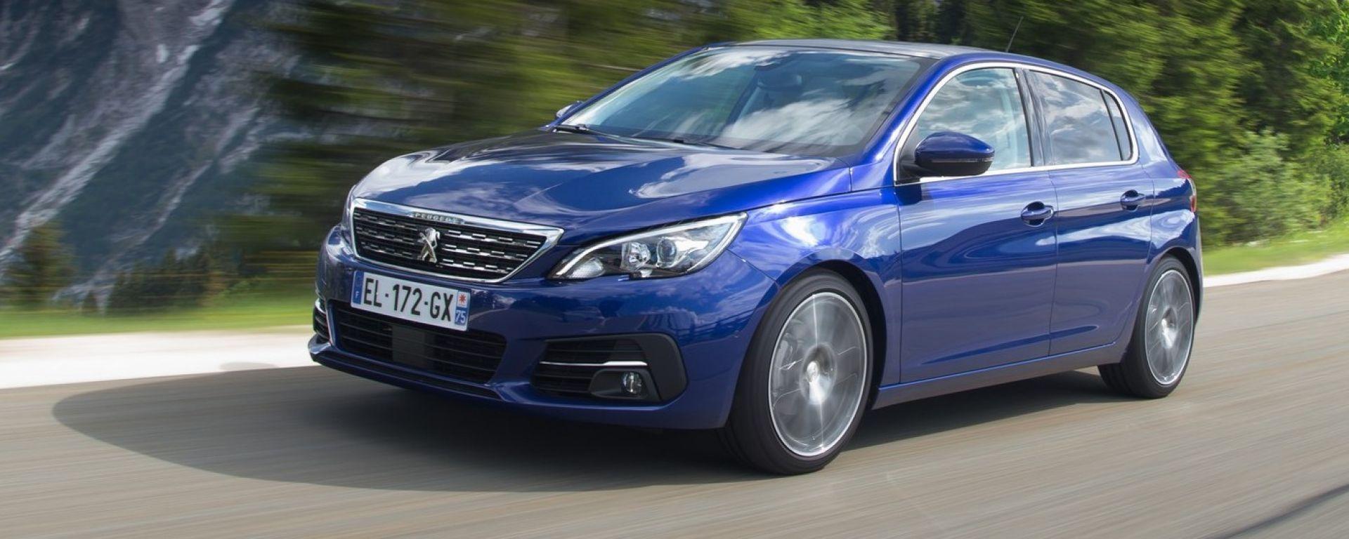 Nuova Peugeot 308 restyling: il Leone si evolve