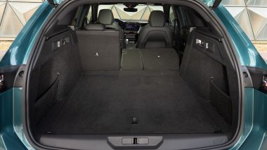Nuova Peugeot 308 Station Wagon, il bagagliaio