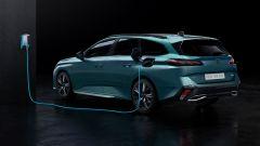 Nuova Peugeot 308 SW: visuale di 3/4 posteriore
