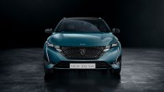 Nuova Peugeot 308 SW: visuale frontale