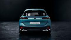 Nuova Peugeot 308 SW: visuale posteriore